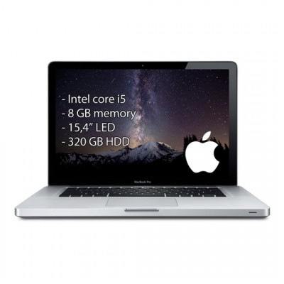 Apple Macbook pro i5/8GB/15,4″