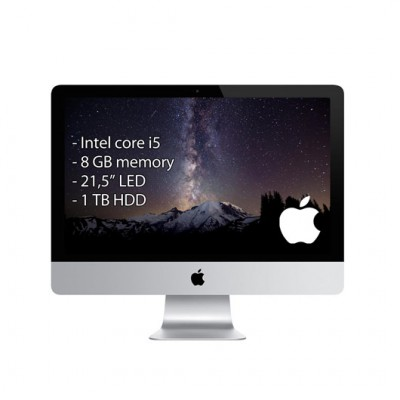 Apple iMac  – i5 / 8GB / 21,5″