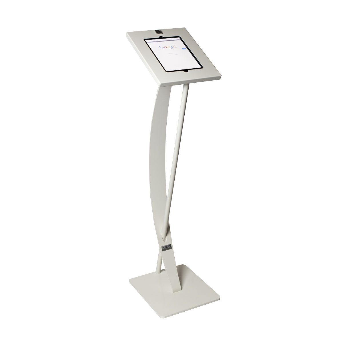 Tablet Design floor stand white