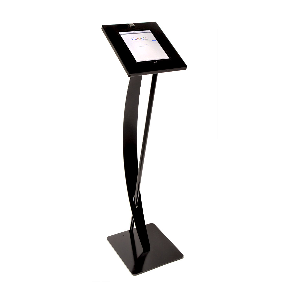 Tablet Design floor stand black
