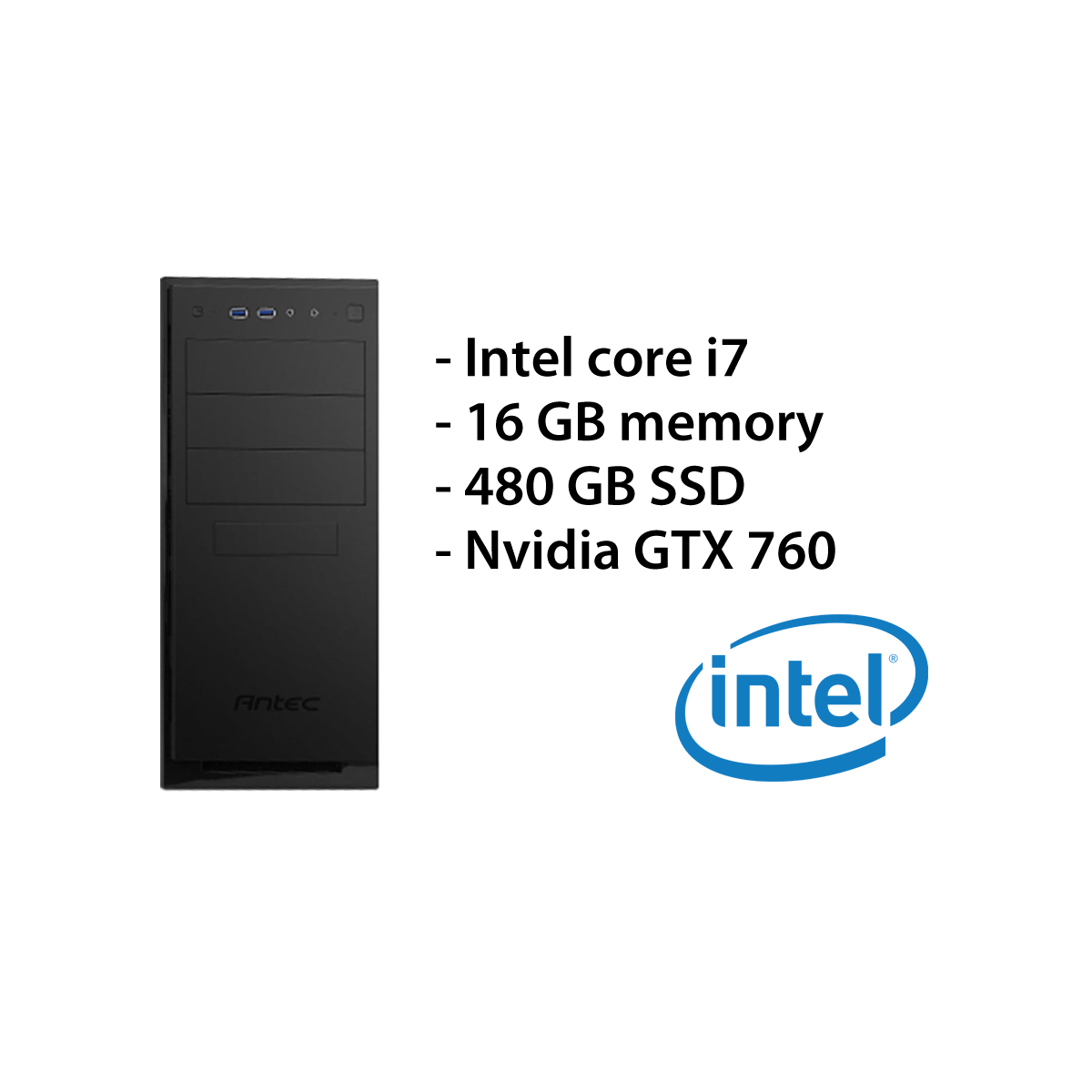 Multimedia PC – i7/16GB/480GB/GTX 760