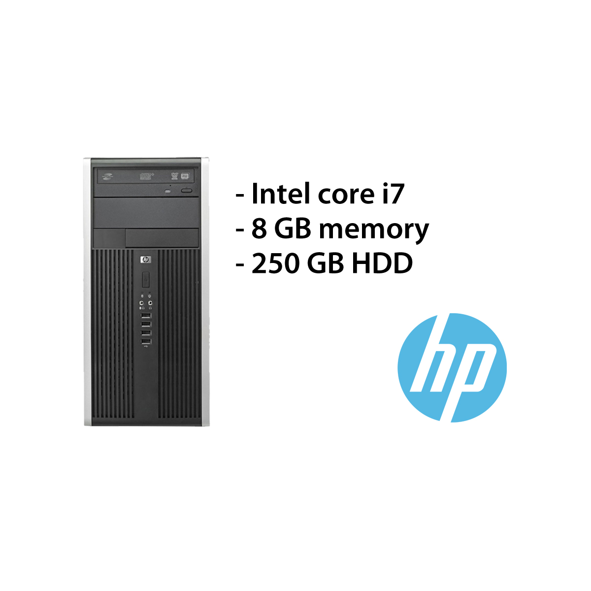 HP 8200 Elite – i7/8GB/250GB