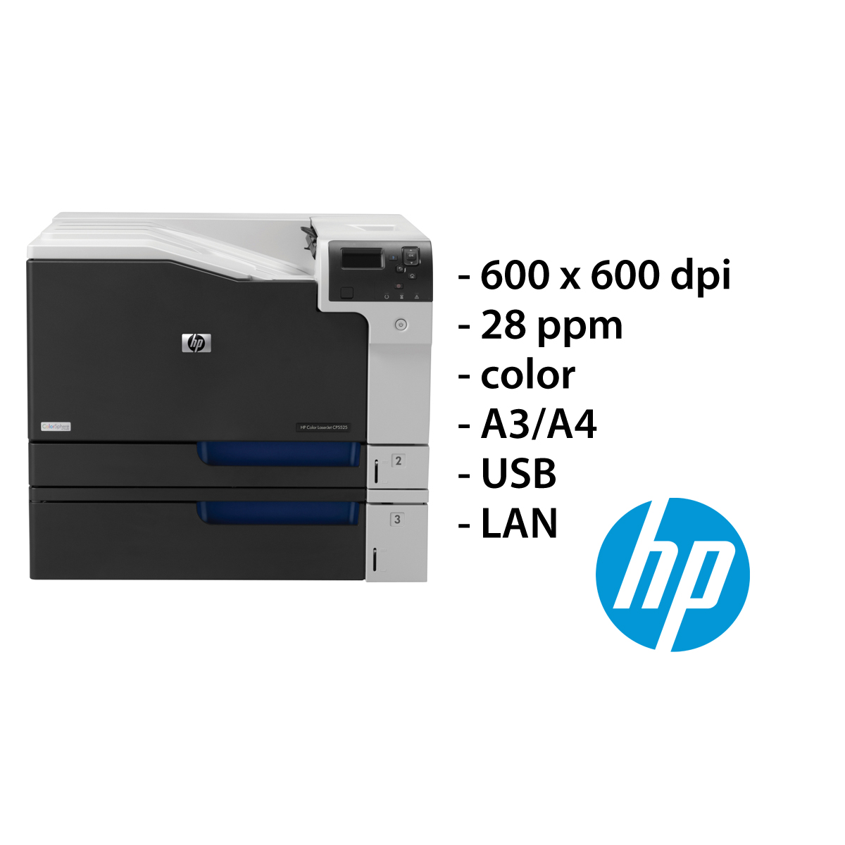 HP Kleur Laserjet printer 5525