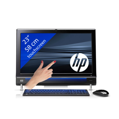 HP Touchsmart 1160 – i5/4GB/23″