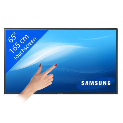 Samsung MD65C – DM65E LED Touchscreen – 65″/ 165 cm