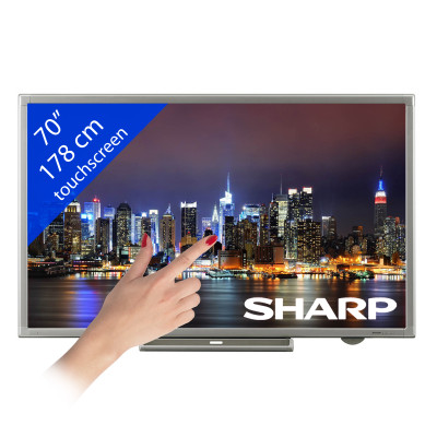 Sharp PN-L702B Touchscreen – 70″/ 178 cm