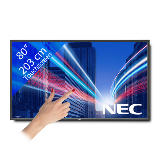 NEC V801TM LED Touchscreen – 80″/ 203 cm