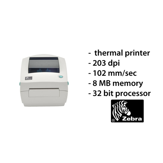 Zebra GC420D labelprinter