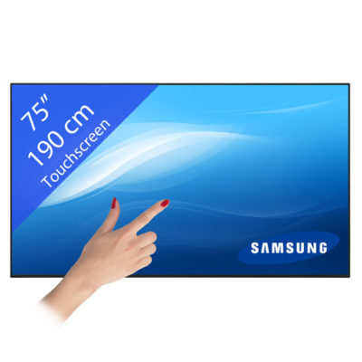 Samsung DM75E LED Touchscreen – 75″/ 190 cm