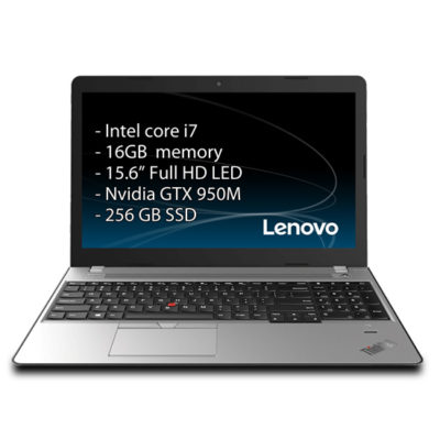 Lenovo Thinkpad E570 – i7/16GB/15″/SSD