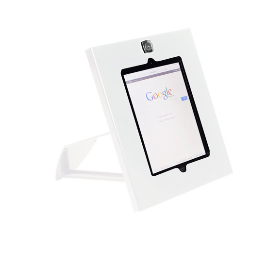 Tablet Design wall mount white