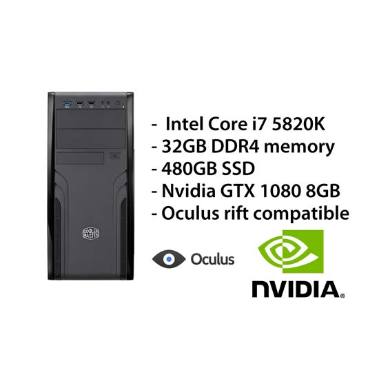 Ultimate PC² – i7/32GB/480GB/GTX1080