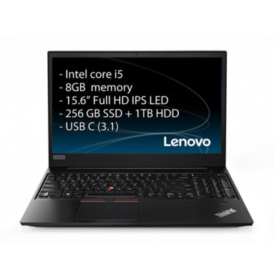 Lenovo Thinkpad E580 – i5/8GB/15″/SSD