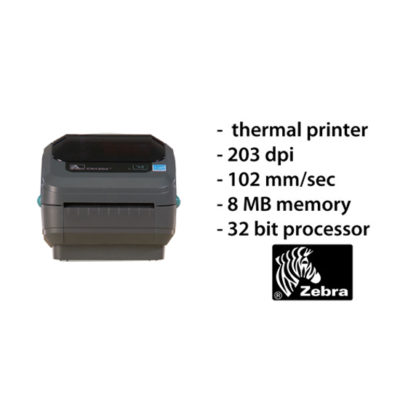 Zebra GK420D labelprinter