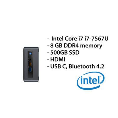 Intel NUC Mini PC – i7/8GB/500SSD