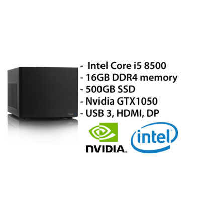 Multimedia PC – i5/16GB/480GB/GTX 1050