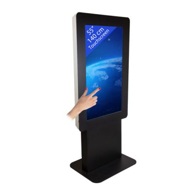 55″ Interactive Touch Kiosk